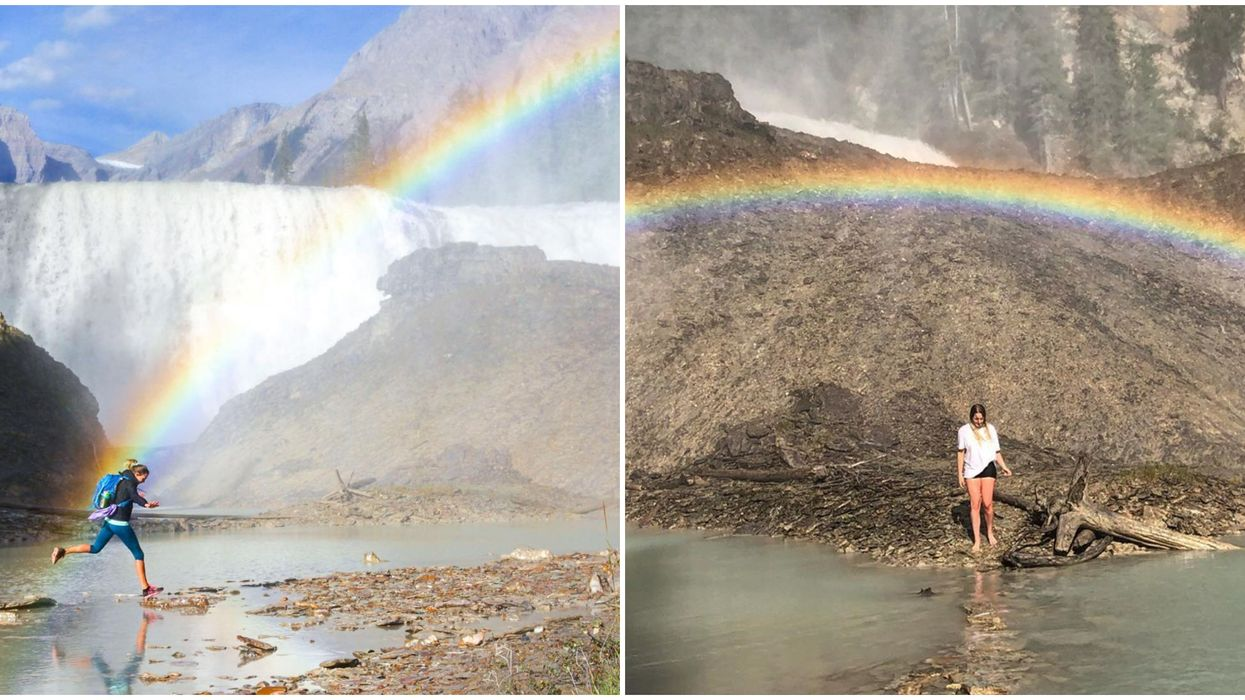 Wapta Falls In Golden Are Pure Magic & It's An Easy Summer Road Trip Away