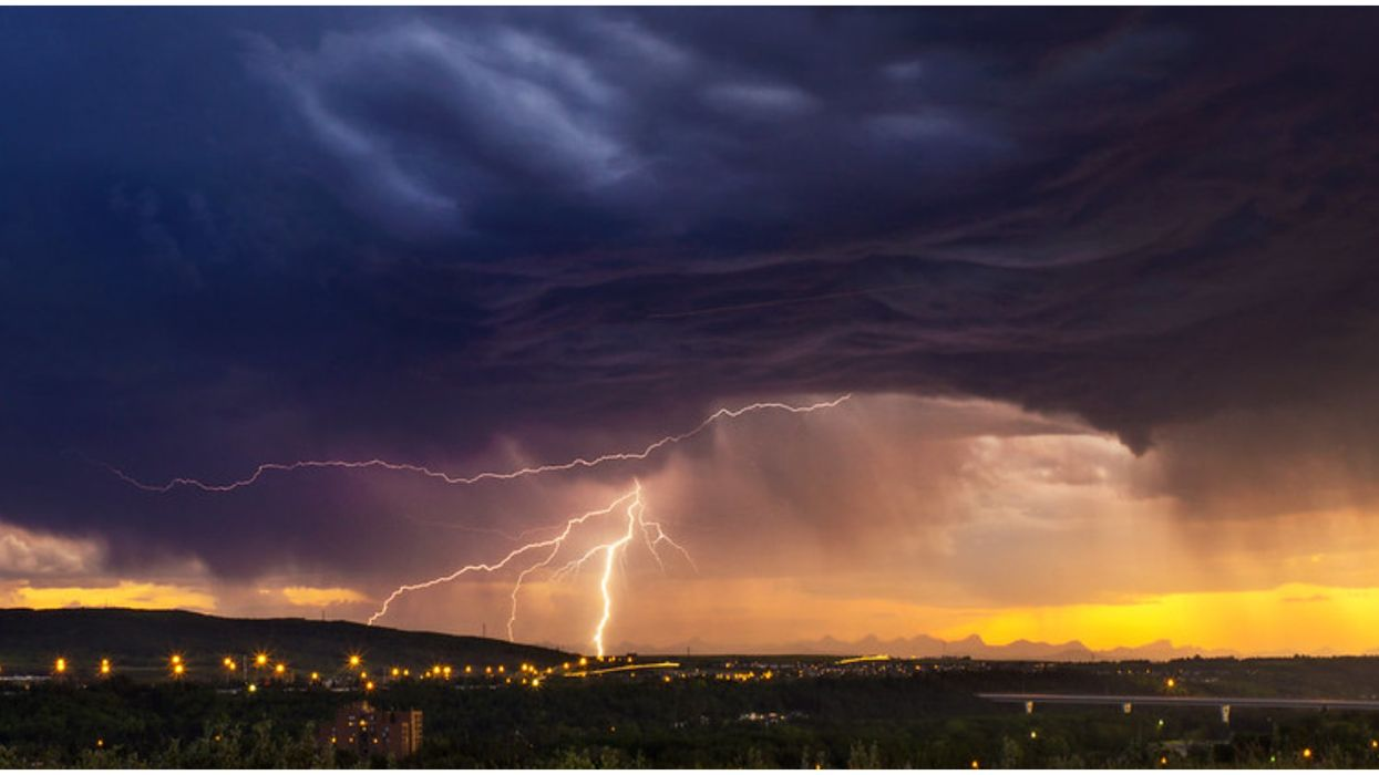 Calgary's Under 'Severe Thunderstorm Watch' Right After Tornadoes Tore Through The Area