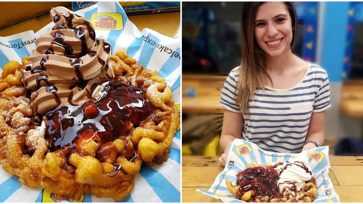 Toronto's Free Funnel Cake Is Happening Next Week & It's The Best Way To Celebrate Summer