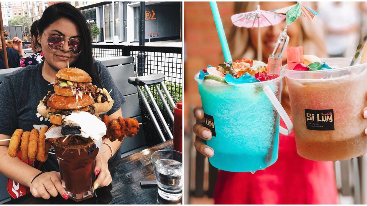 Toronto's Giant Cocktails Are SO Massive You Only Need One To Get Turnt