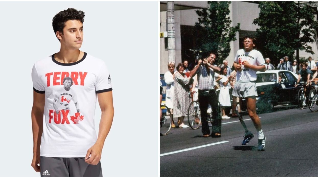 Adidas Terry Fox Collection Has New Shirts Coming Out On July 11
