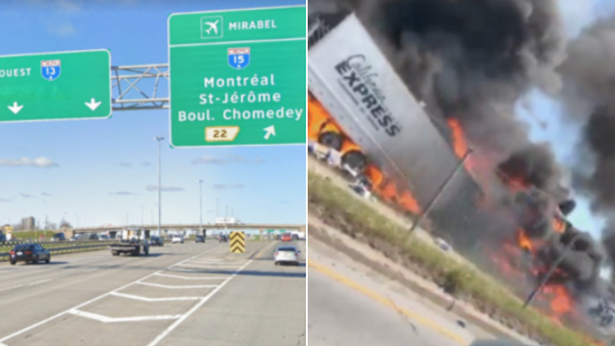 Le camionneur responsable du carambolage mortel sur l'autoroute 440 est arrêté