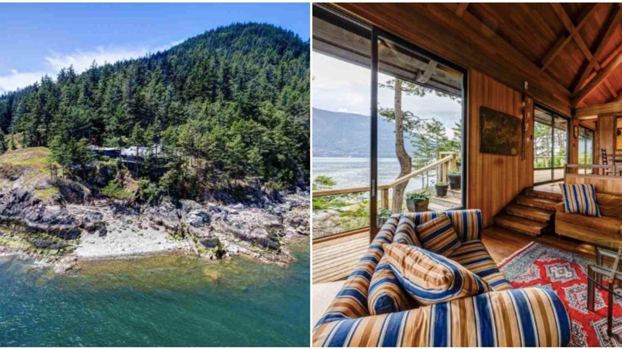 Bowen Island Cliffside Home Is Like A Giant Treehouse For Rich People
