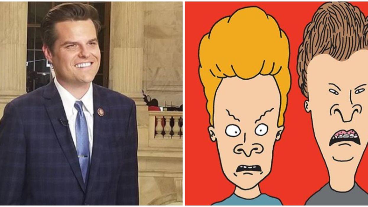 Beavis And Butt-Head Meme Trolls Florida Rep. Matt Gaetz