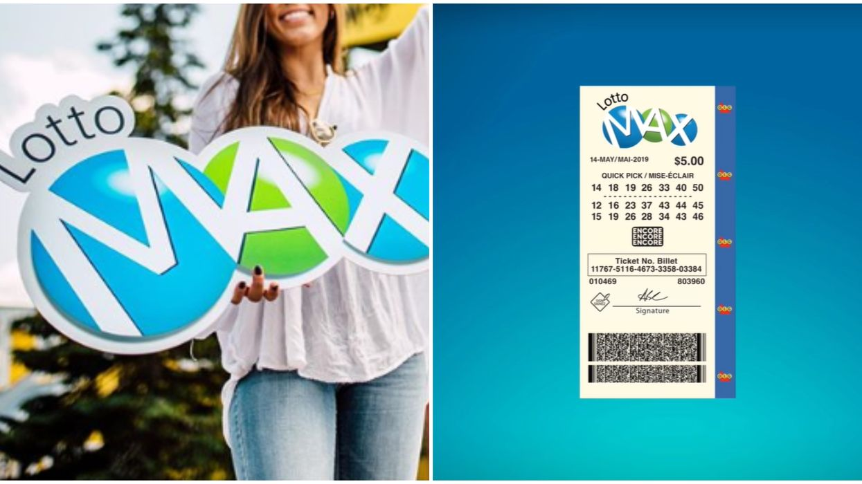 Lotto Max Draw Didn't Have A Winner So The Jackpot Got So Much Bigger