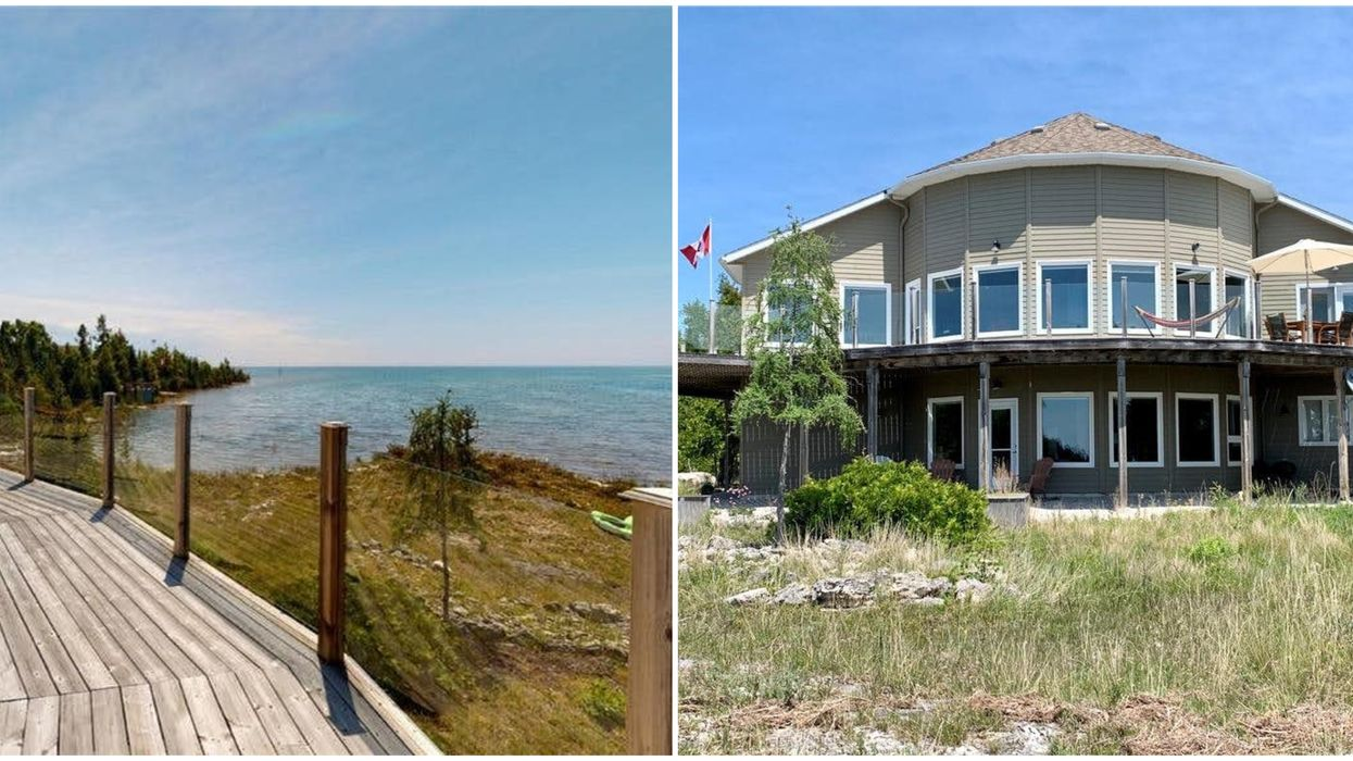 Ontario's Lakefront Home For Sale Has A Crystal Blue Lake For A Backyard (PHOTOS)