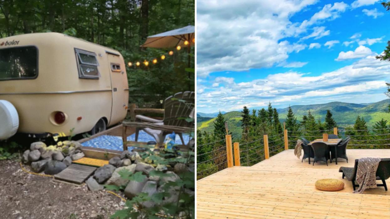 6 « Tiny » Airbnb à Québec ou dans les environs parfaits pour s'évader de la ville