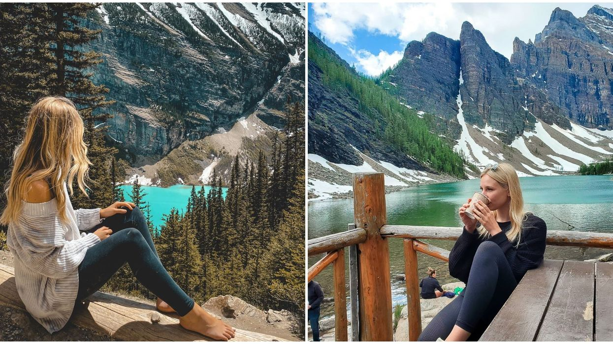 Tea House In Alberta Right On A Lake Is Hidden In The Rockies & Worth Finding