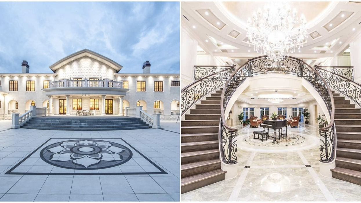 Richmond Mega-Mansion Is The Last Of Its Kind & The Most Expensive In Town (PHOTOS)