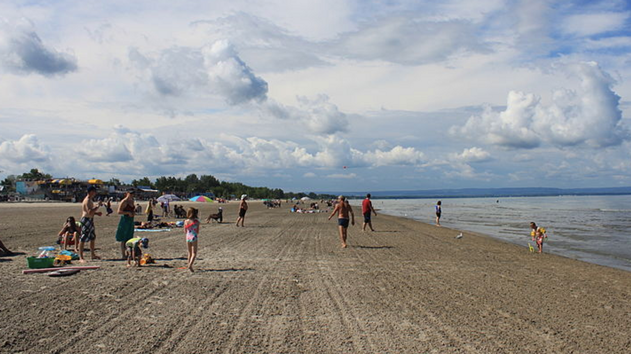 Ontario's Wasaga Beach Wants To Reopen But With Really Strict Capacity Rules & Hand Stamps