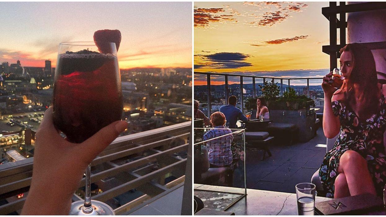 Copper Spirits and Sights: Terrasse sur le toit avec panorama à couper le souffle à Ottawa