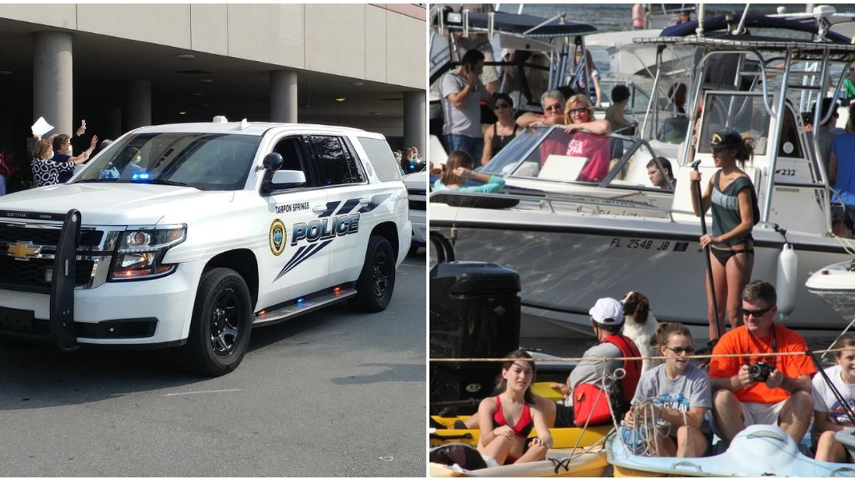 tarpon springs police department covid-19