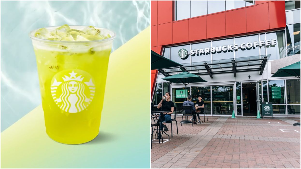 Kiwi Starfruit Refreshers Iced Beverage Just Dropped In Starbucks & It's Seriously Fruity