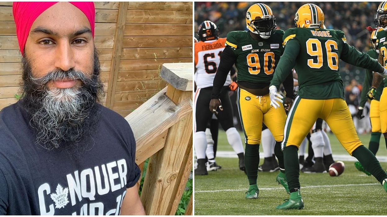 Jagmeet Singh Throws The Spotlight On The Eskimos Following The Redskins' Name Change
