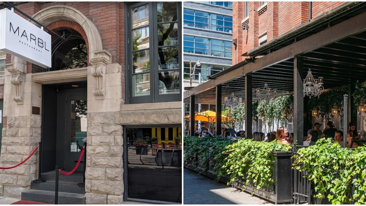 MARBL Bar In Toronto Is Being Investigated By The AGCO After Video Of Patio Party