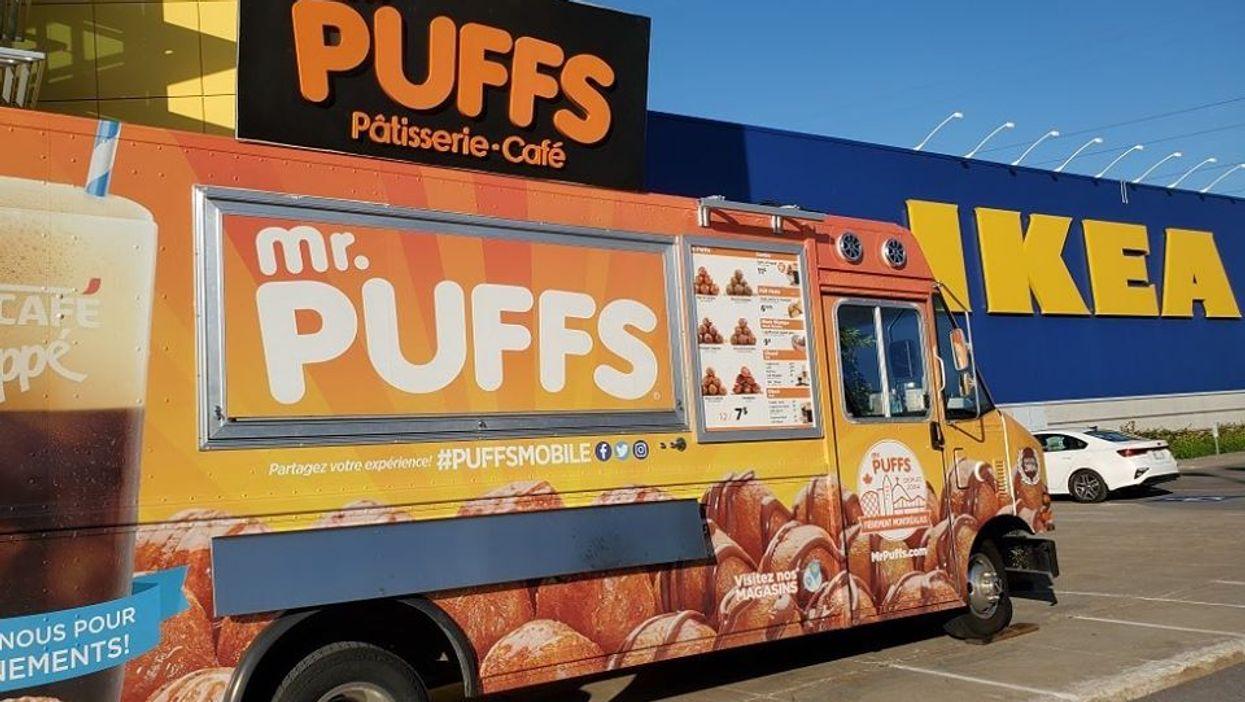 Mr. Puffs vend ses beignes chez IKEA Boucherville toute une journée cette semaine