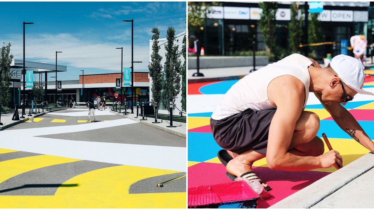 Deerfoot City's Block Party Opens Tomorrow In Calgary & It's So Montreal It Hurts