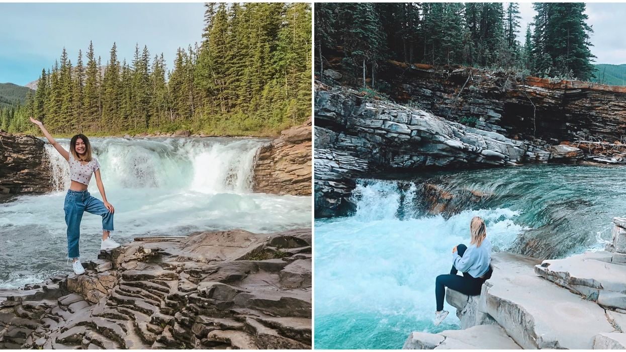 Sheep River Falls Is A Super Simple Hike Leading To A Hidden Oasis