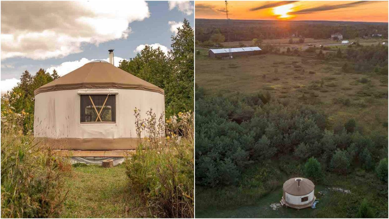 You Can Rent This Yurt Cabin In Ottawa Where A UFO Was Apparently Spotted