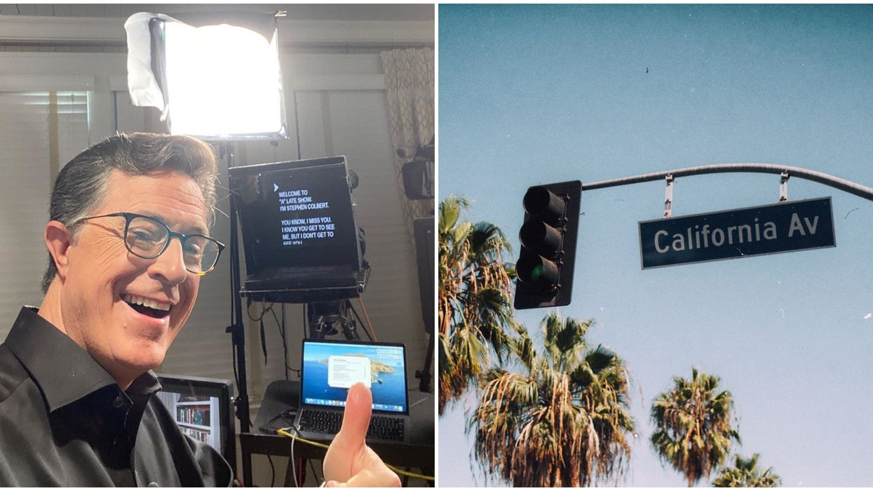 Stephan Colbert Says It's 'Always Worse In Flordia' If You Think California Is Bad