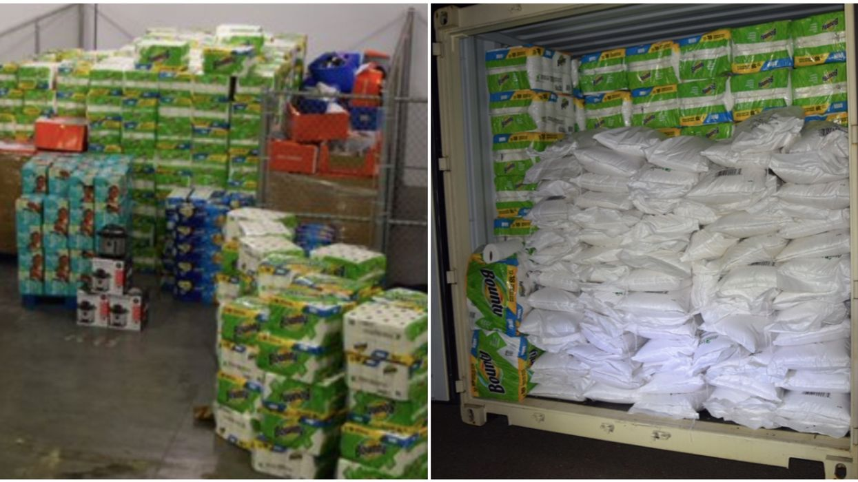 Burnaby RCMP Seized $75K Of Stolen Rice, Toile Paper & Bullets