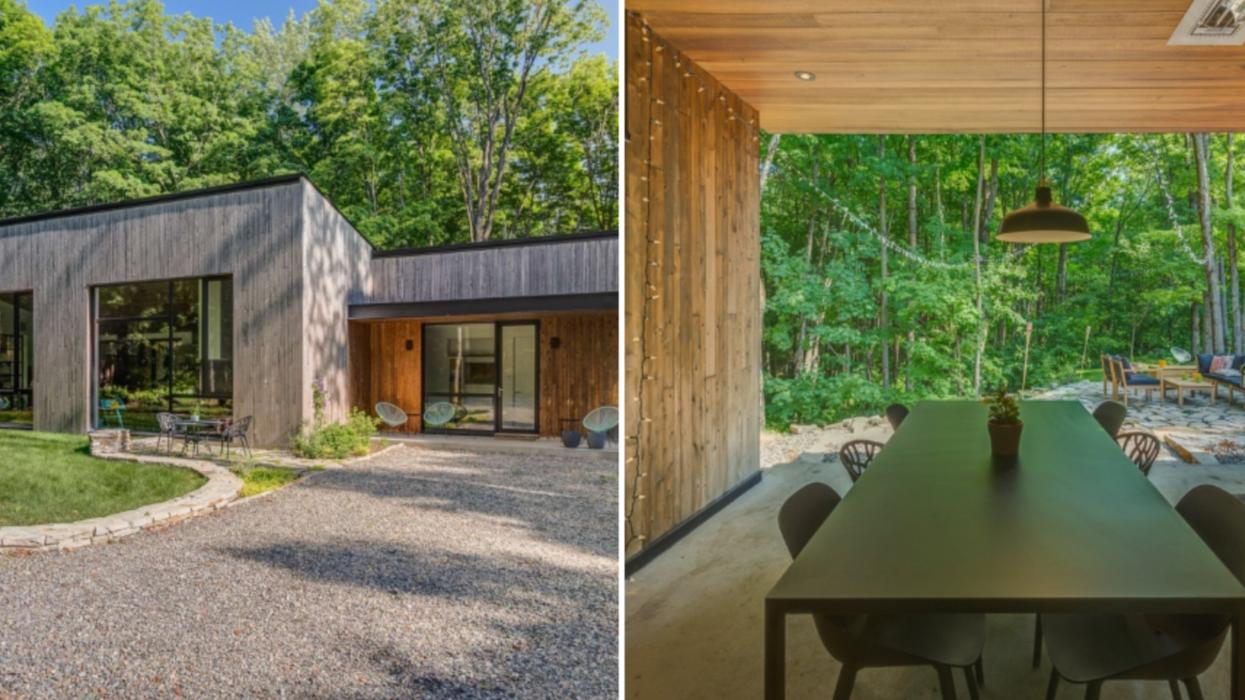 Cette maison près de Montréal est digne d'un ranch californien à la « Selling Sunset »