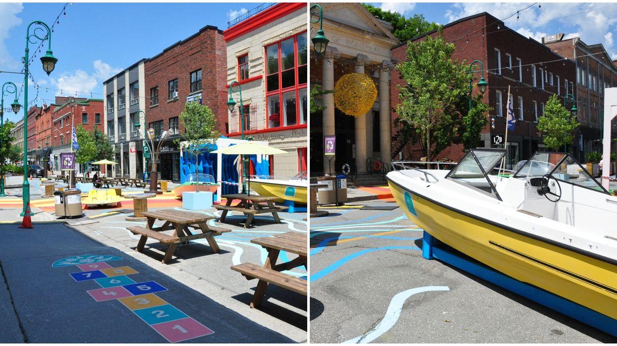 La Ville de Sherbrooke transforme son centre-ville en petit paradis urbain