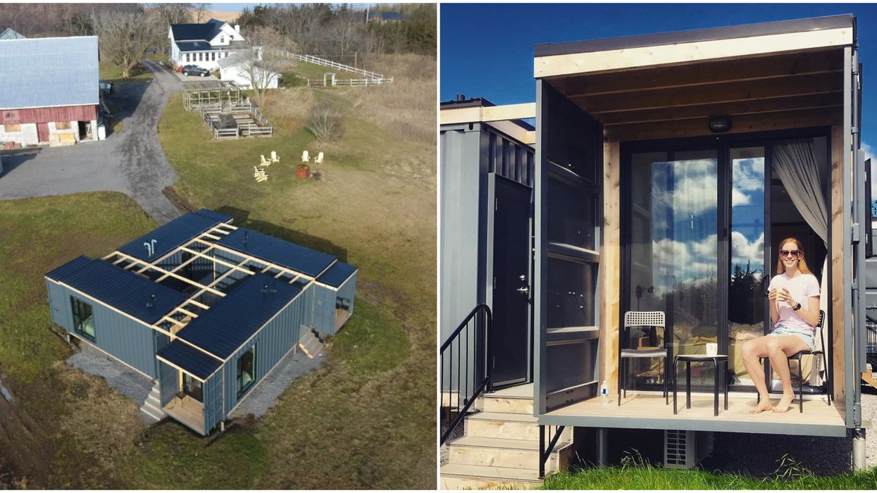An Ontario Shipping Container Airbnb Is Like Camping Without Having To Pitch A Tent