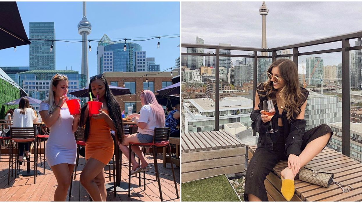 Toronto's Rooftop Patios Bring You Views Of The Entire City