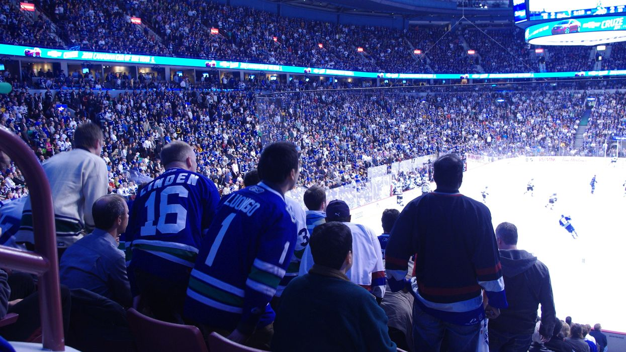 Vancouver Canucks Playoff Viewing Parties Kick Off This Month At Rogers Arena Sportsbar