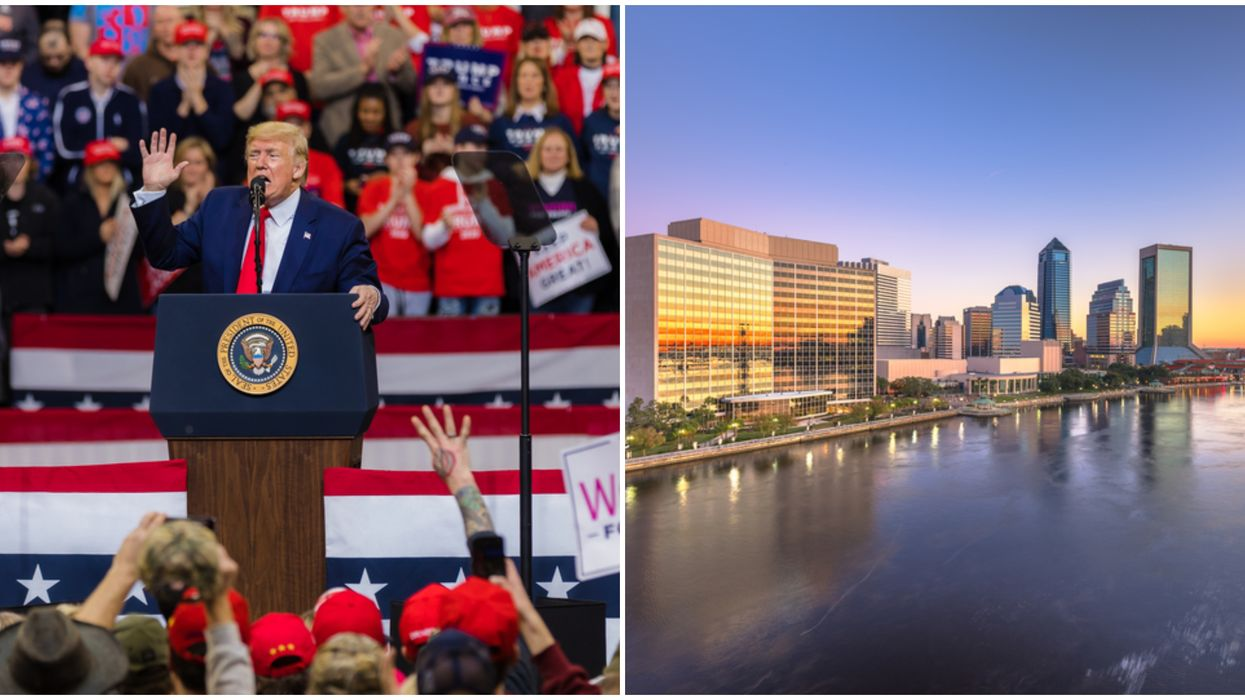 Trump's 'COVID Convention' In Jacksonville Just Got Cut In Half