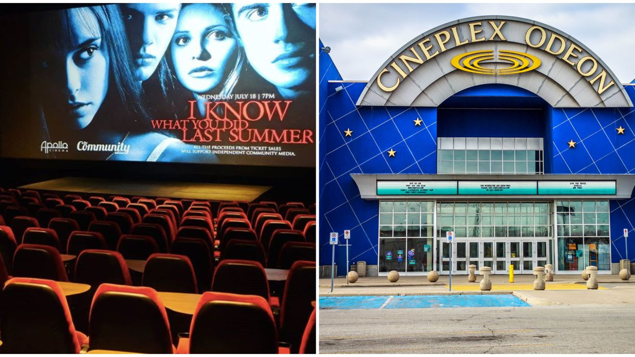 Movie Theatres In Ontario Are Starting To Open But Cineplex Is Staying Closed