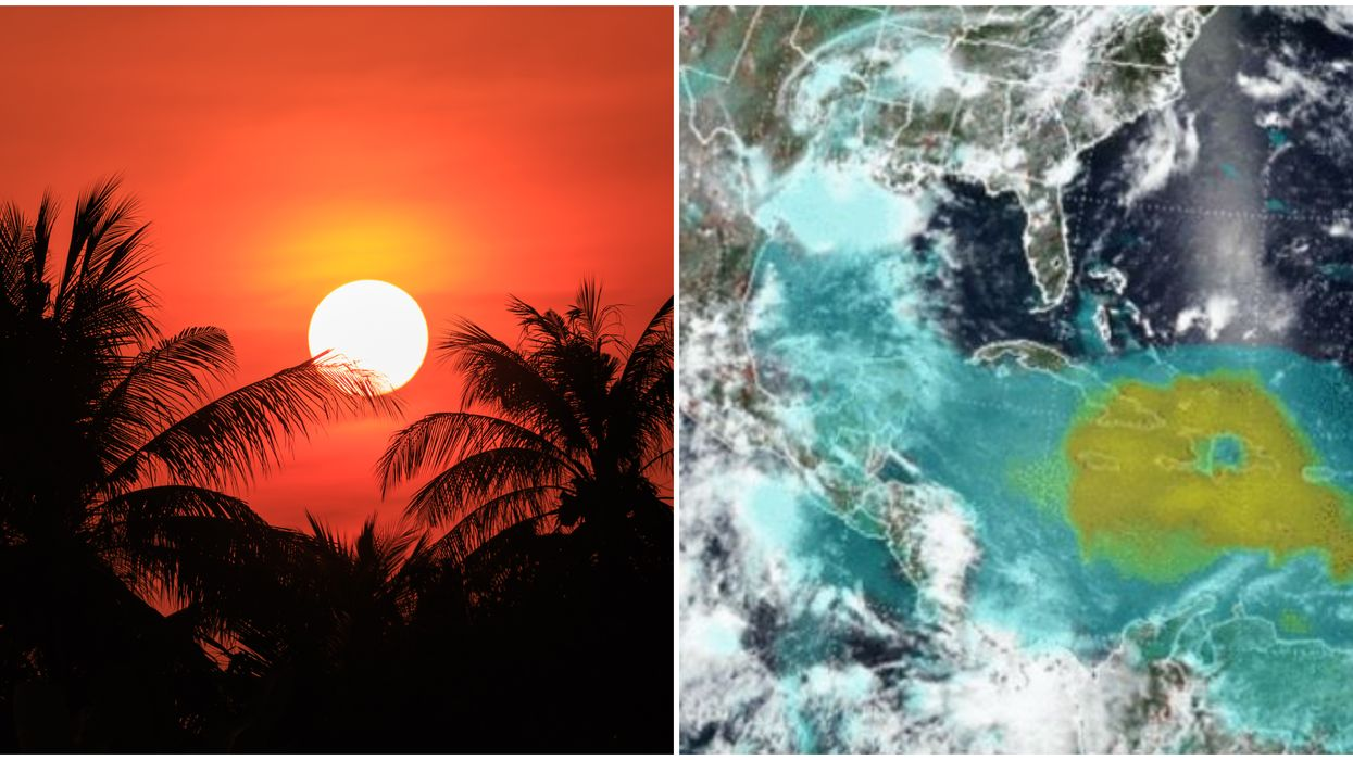 Massive Saharan Dust Cloud Could Bring Stunning Sunsets To Florida Again