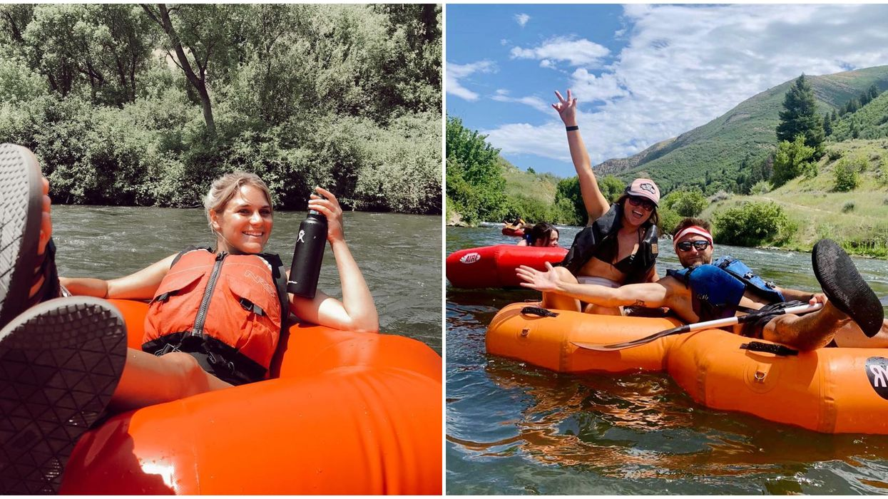 Provo River In Utah Is The Perfect Place To Float The Day Away