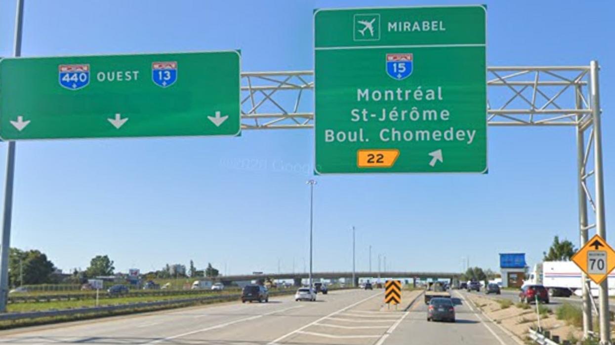 L'échangeur jugé dangereux entre l'autoroute 15 et la 440 à Laval sera transformé