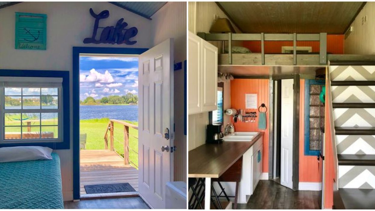 Cheap Tiny Home Airbnb Rental In Florida Is The Perfect Mini Beachy Getaway
