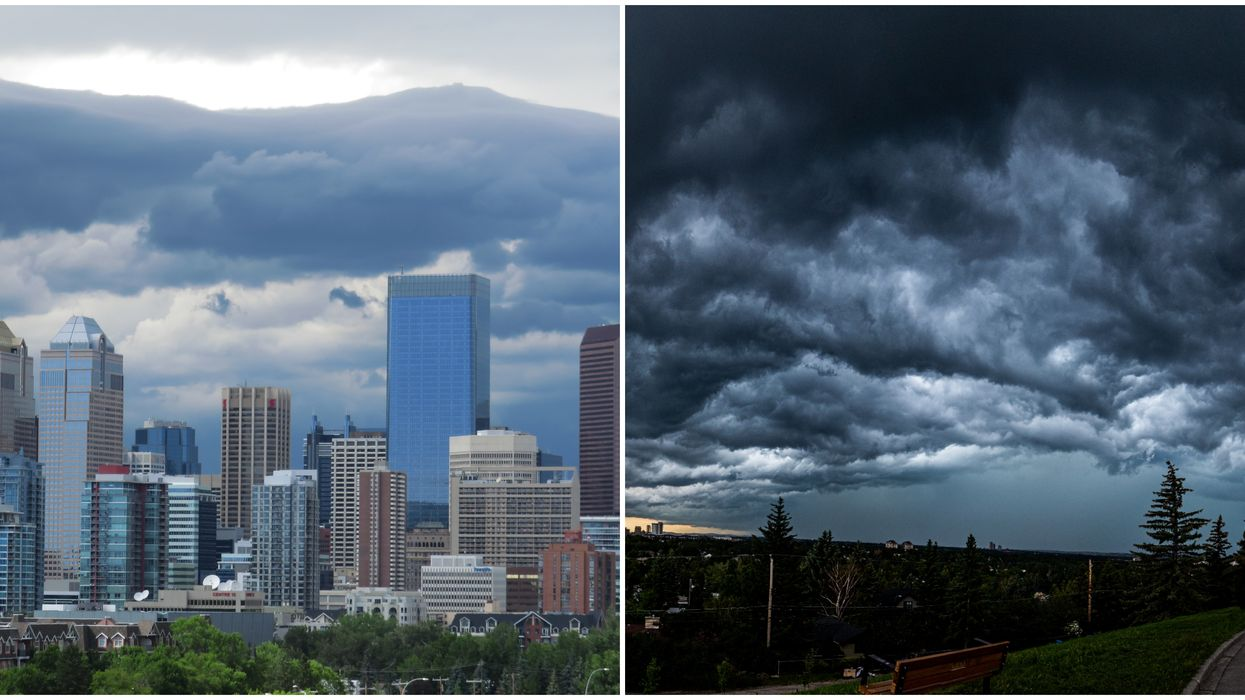 Calgary's Weather Just Got Placed Under A 'Severe Thunderstorm Watch' Yet Again