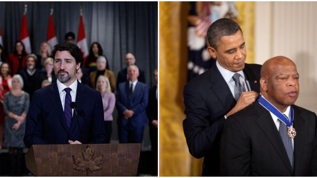 John Lewis's Death Prompts Heartfelt Condolences From Justin Trudeau