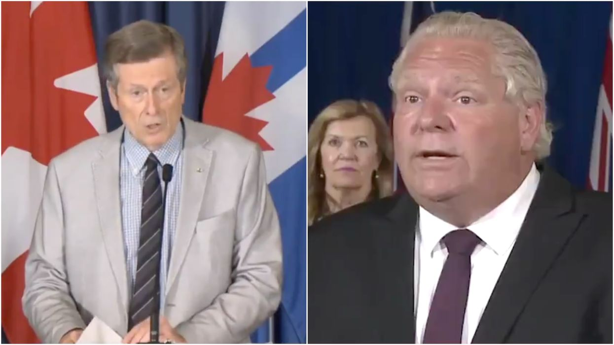 Stage Three Of Reopening In Toronto Needs To Be Stricter John Tory Urges Doug Ford