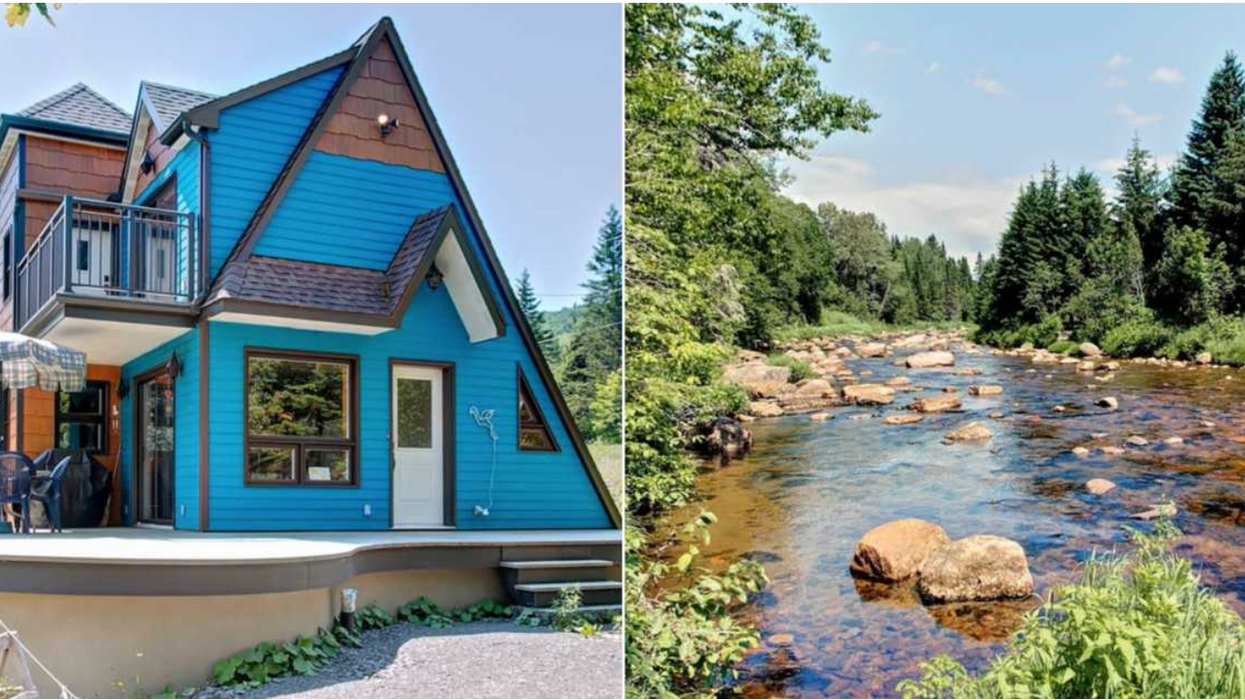 Maison en vente au Québec avec vue incroyable qui coûte seulement 185 000 $