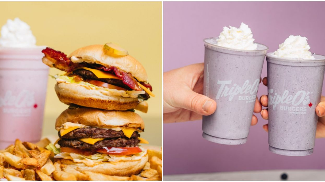 A Calgary Triple O's Just Opened & It's A Drive-Thru For Burgers And Shakes