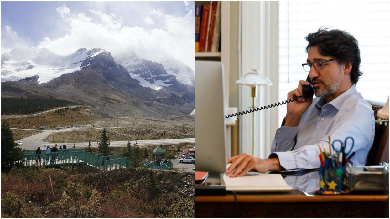 Trudeau Thanks Responders For Their 'Quick Action' After The Columbia Icefields Crash