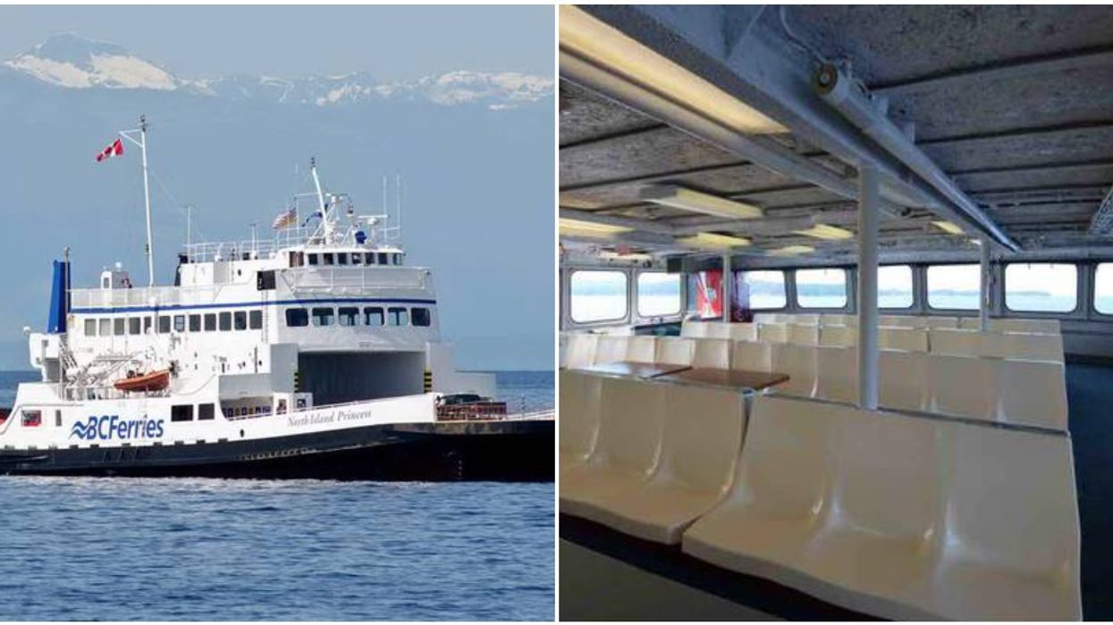 There's A BC Ferries Boat For Sale Right Now For $159K