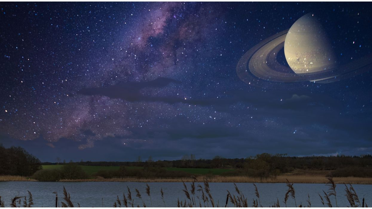 Saturn At Opposition Means It'll Shine Bright Like A Diamond & It's Visible From Arizona