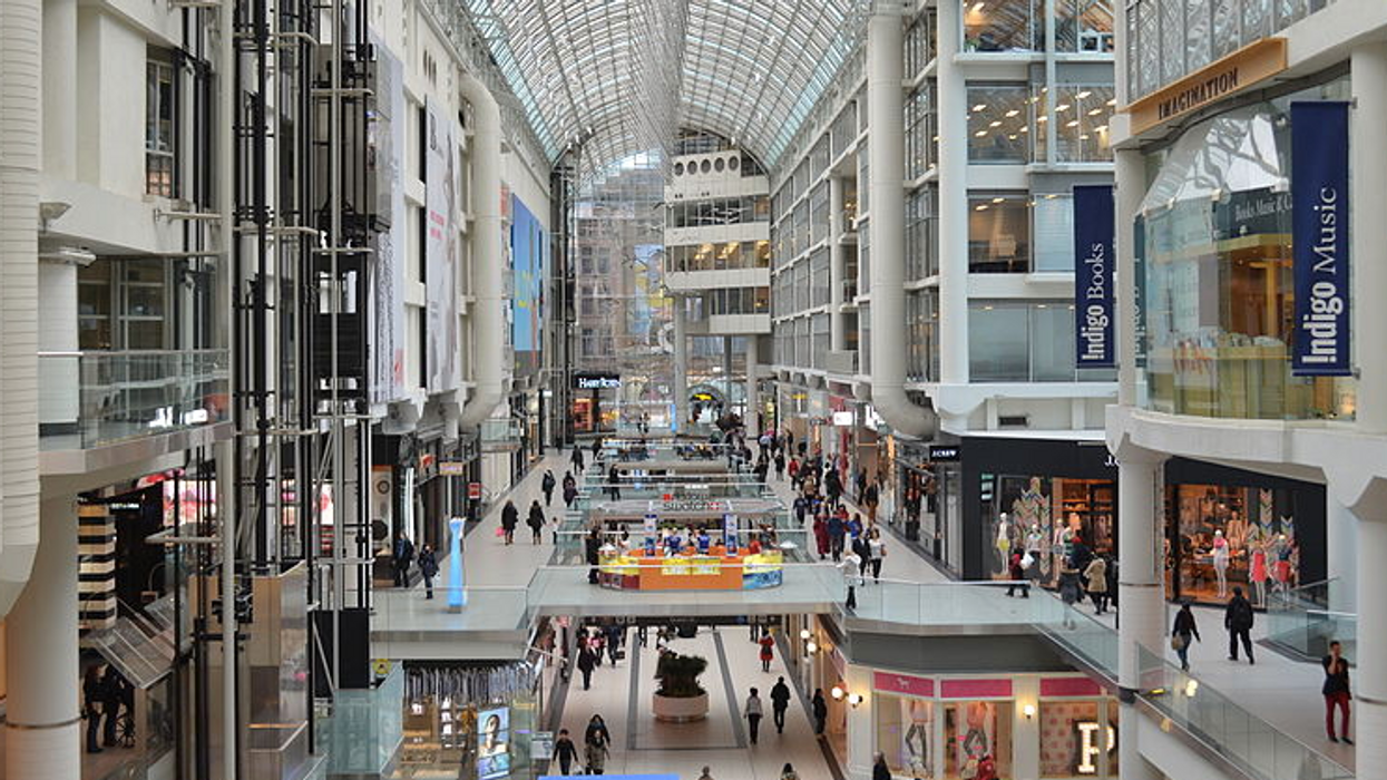 The Toronto Eaton Centre Is Deep Cleaning After Someone Tested Positive For COVID-19