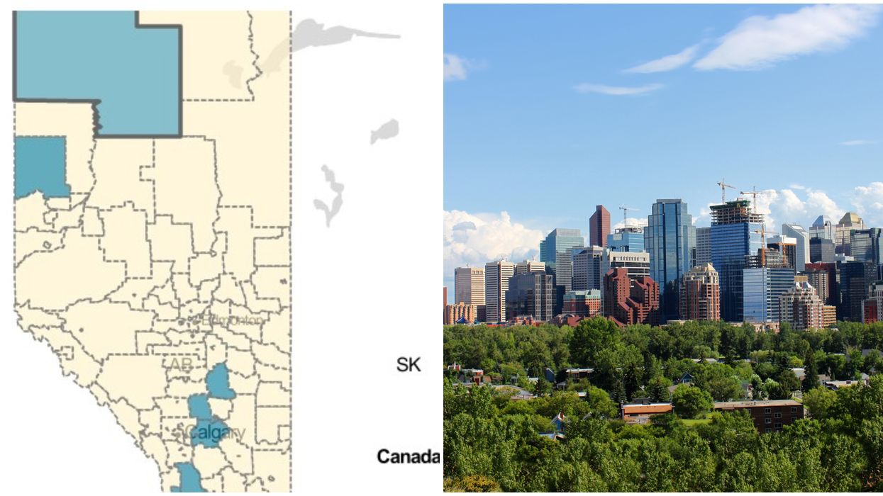 Alberta COVID Cases By Region Are Mostly In Calgary With Almost 450 In The City