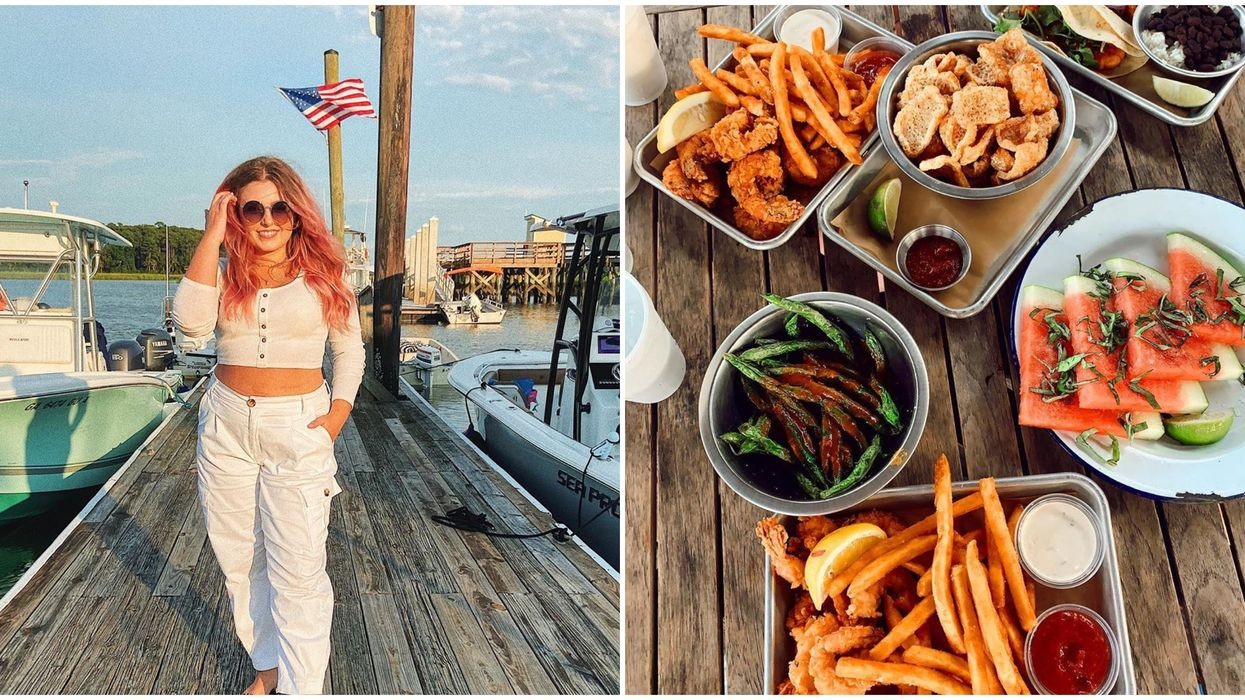 The Wyld Dock Bar Restaurant In Savannah Lets You Eat Seaside With Amazing Views