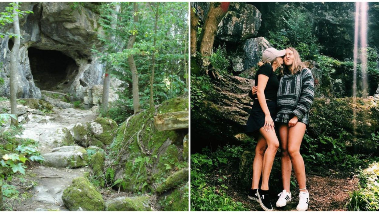 Greig's Caves In Ontario Are Made Of Limestone & Are The Perfect City Escape