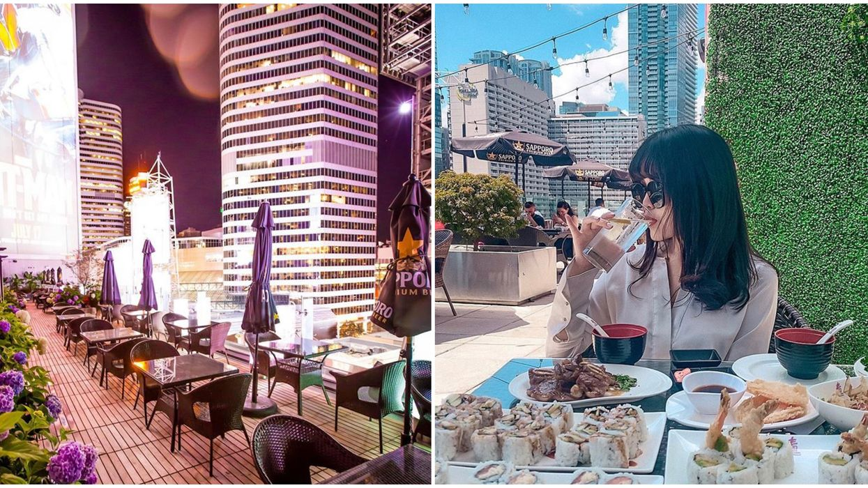 Toronto's Sushi Patio Brings You Towering View Of The City & Is All-You-Can-Eat