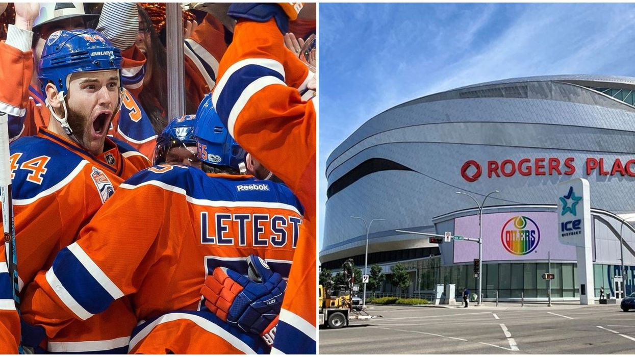 Edmonton Is Getting A Drive-In & Beer Garden For Hockey Fans To Watch The Playoffs